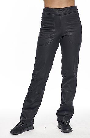 Černé dámské softshellové kalhoty s kapsami 915